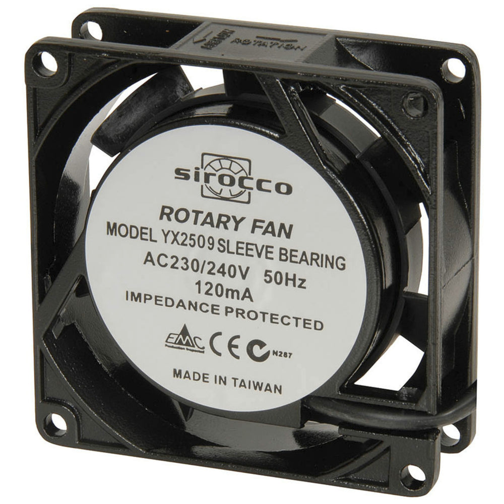 80mm 240V AC Thin Fan