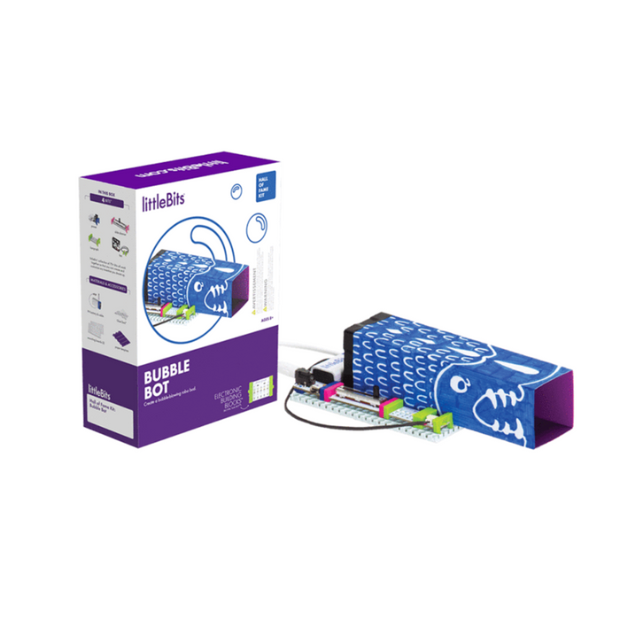littleBits Bubble Bot Hall of Fame Kit