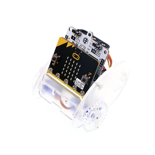 Ring:bit Car — Educational Smart Robot Kit for Kids (Without Micro:bit board)