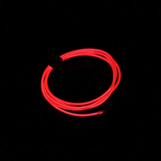 Neon Light EL Wire 1000mmx2.3mm Red