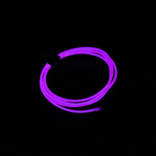 Neon Light EL Wire 1000mmx2.3mm Purple