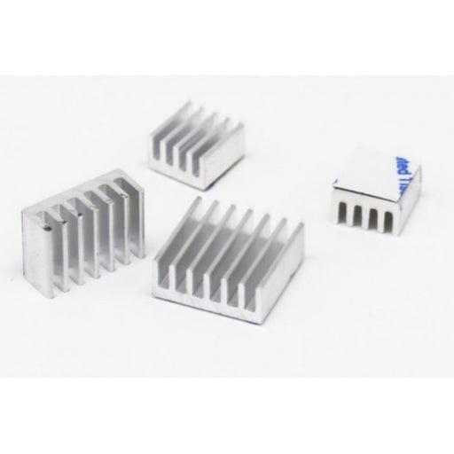 Heatsink Kit for Raspberry Pi 4B Silver