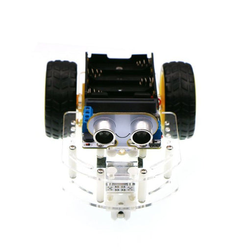 Motor:bit Acrylic Smart Car Kit (with micro:bit board)