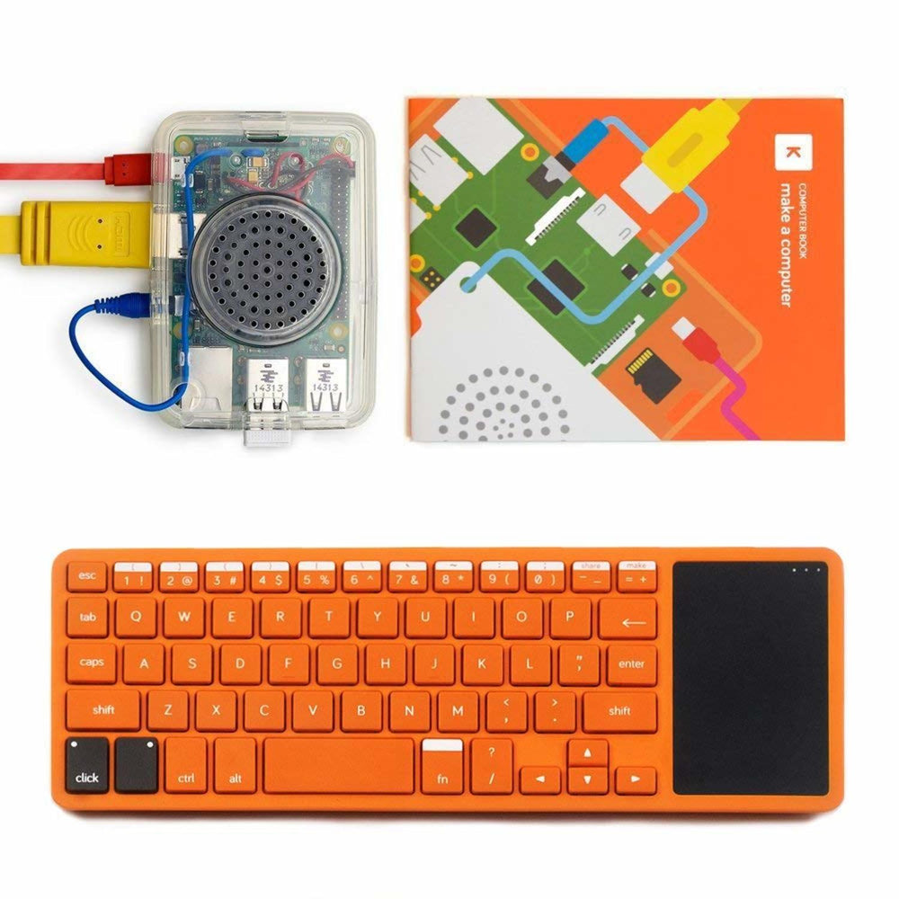 Kano Computer Kit – Make A Computer, Learn To Code