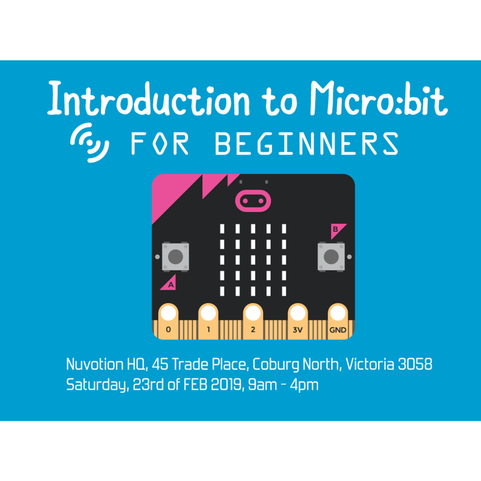 Introduction to Micro:bit with Nick - Workshop 23rd of FEB 2019