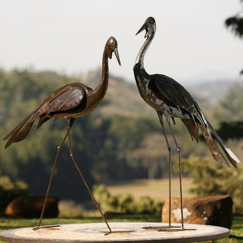 BIRDWOODS METAL SCULPTURE