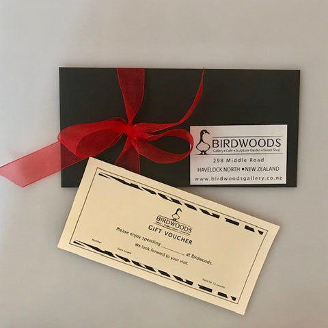 Birdwoods Gallery Gift Voucher