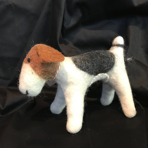 Archie Dog - Small Felted