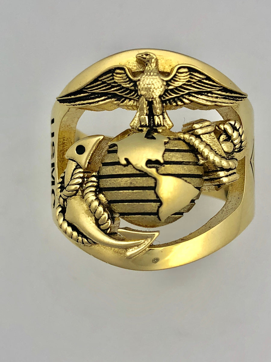 Eagle globe and anchor marine corps rings marine corps gifts eagle globe and anchor marine corps rings aloadofball Choice Image