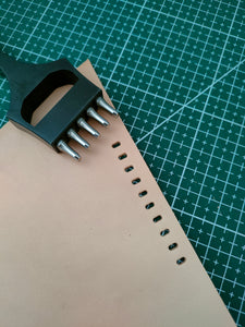 Watch strap punch 2*4mm ablong