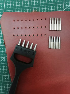 Basic watch strap round hole punch