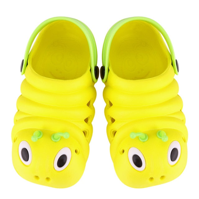 Caterpillar Soft Leather Slippers
