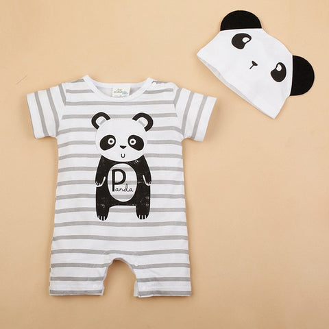 Cotton Rabbit Ears Infant Jumpsuit