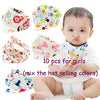 10pieces/lot Cotton New Baby Scarf