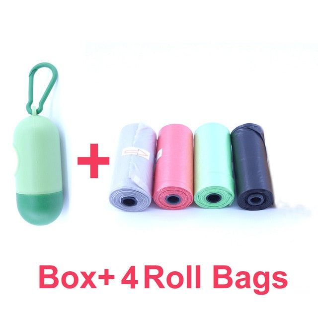 Portable Plastic Dispenser Box for Baby Diaper Waste Bag