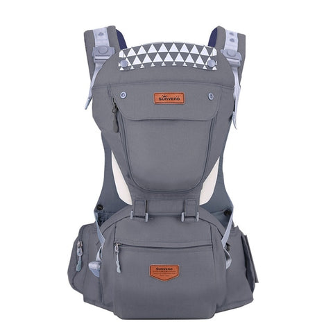 Ergonomic Hipseat Baby Carrier (6in1)