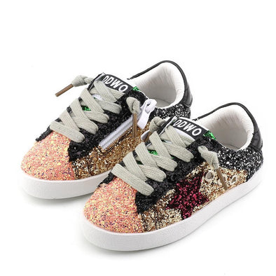 Solid Glittler Sneakers