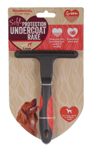 Salon Grooming Soft Protection Undercoat Rake