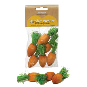 Woodies Play Carrots 6pc