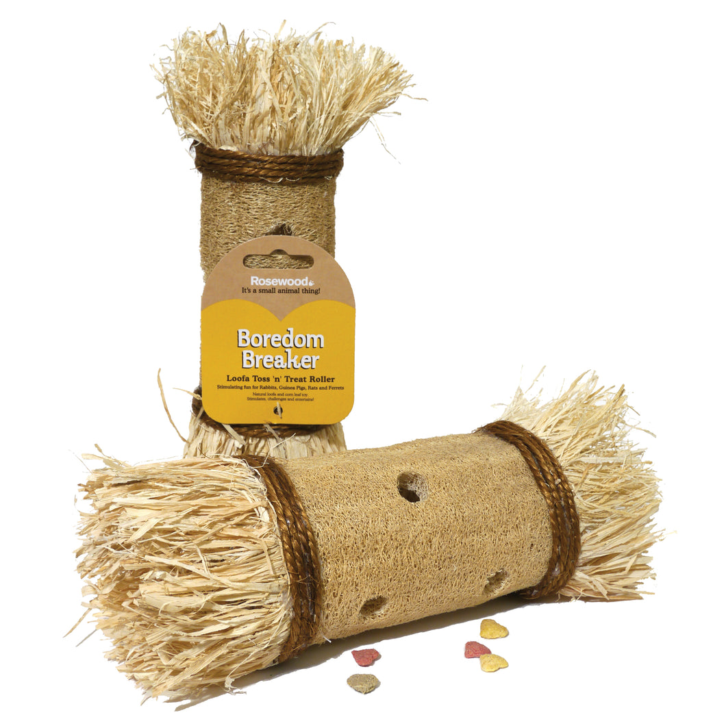 Loofa Toss 'n' Treat Roller
