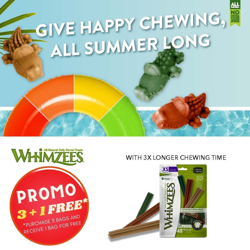 WHIMZEES Stix Buy 3 Get 1 Free