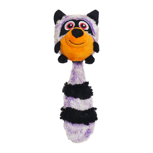 Jolly Doggy Multi-Activity Squeak Switch Raccoon