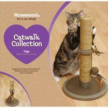 Load image into Gallery viewer, Rosewood Catwalk Collection Vigo Cat Scratcher