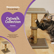 Load image into Gallery viewer, Rosewood Catwalk Collection Toronto Cat Scratcher