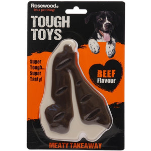 Tough Toys Meaty Steak Takeaway