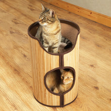 Load image into Gallery viewer, Bamboo Cat Tower