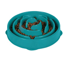 Load image into Gallery viewer, Outward Hound Fun Feeder Teal