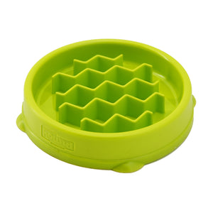 Outward Hound Fun Feeder Cat Green Tiny