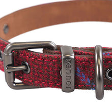 Load image into Gallery viewer, Rosewood & Joules Heritage Tweed Leather Dog Collars