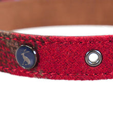 Load image into Gallery viewer, Rosewood Joules Heritage Tweed Leather Dog Collars