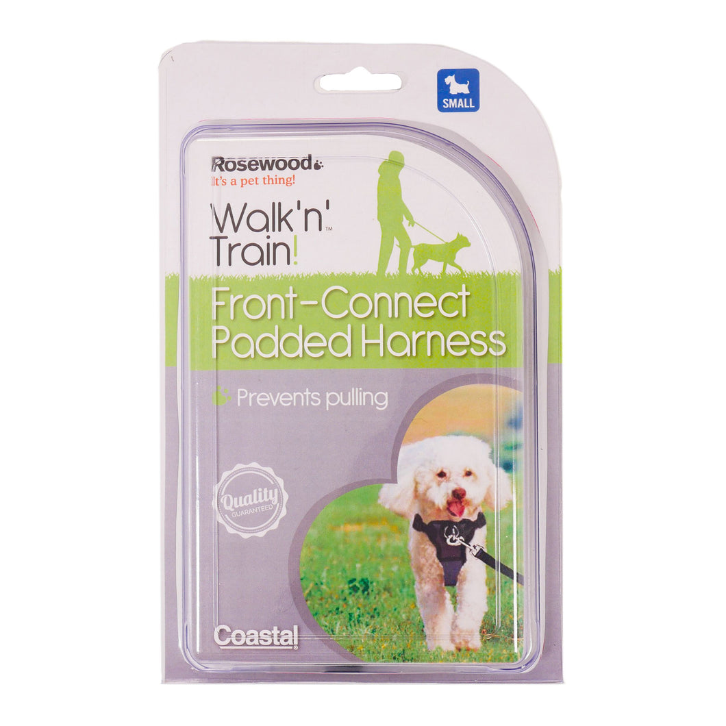 Rosewood Coastal Front-Connect Padded Harness