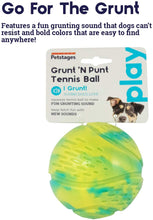 Load image into Gallery viewer, Grunt 'n Punt Tennis Ball Grn