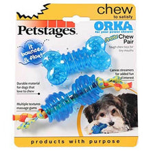 Load image into Gallery viewer, Petstages® ORKA Chew Pair Petite