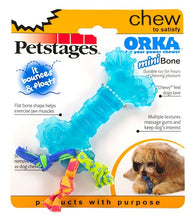 Load image into Gallery viewer, Petstages® ORKA Bone Mini