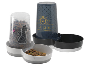 Trendy Food/Water Combo Dispensers