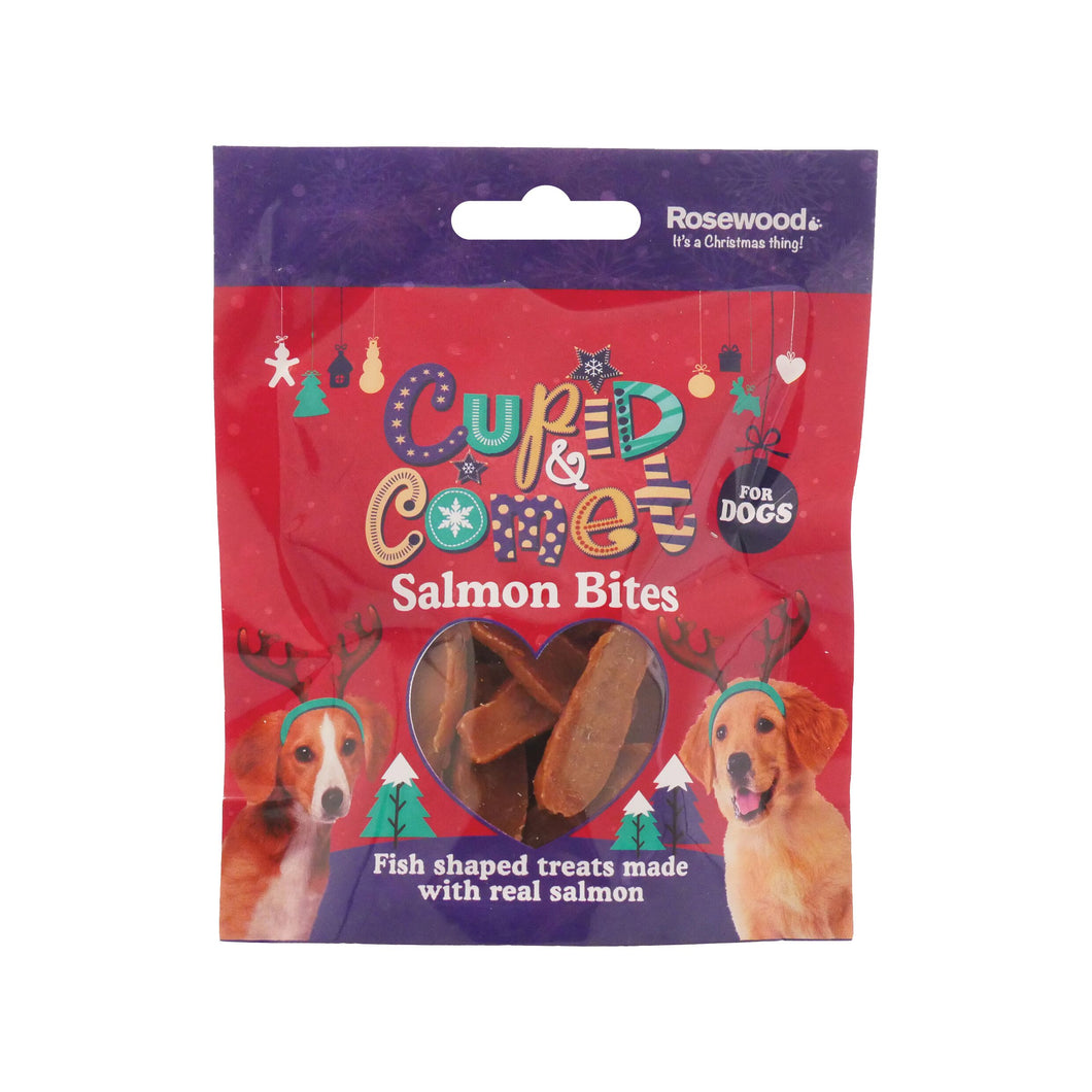 Rosewood Salmon Bites for Dogs 40g