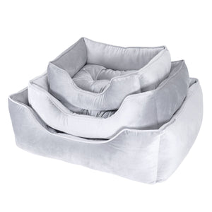 Rosewood Luxury Silver Velvet Beds
