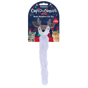 Rosewood Cupid & Comet Luxury Rudy Reindeer Cat Toy