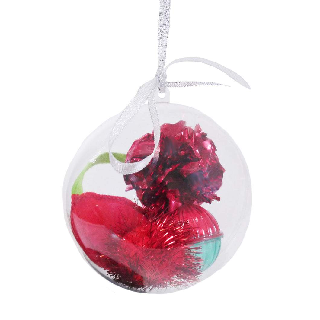 Rosewood Multi Toy Catnip Bauble Cat Toy