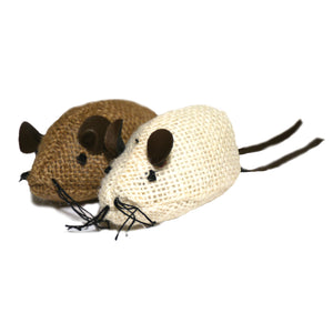 Jolly Moggy Natural Wild Catnip Mice 2pc
