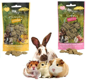 Naturals Simply Nibbles - Tropical Fruit Cushions 50g
