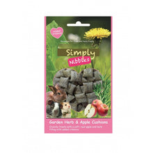 Load image into Gallery viewer, Naturals Simply Nibbles - Garden Herb & Apple Cushions 50g