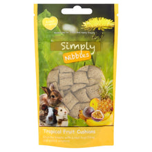 Load image into Gallery viewer, Naturals Simply Nibbles - Tropical Fruit Cushions 50g