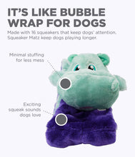 Load image into Gallery viewer, Squeaker Matz Hippo XL 16 Sqk