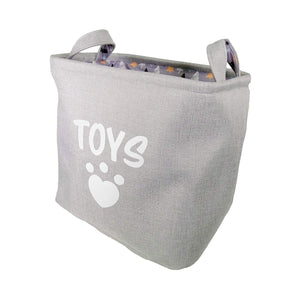 Luxury Winter Forest Dog Toy Display Box