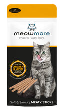 Load image into Gallery viewer, Meow More Cat Treat Sticks